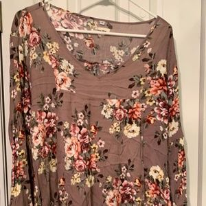 Floral Multi Color Blouse XL